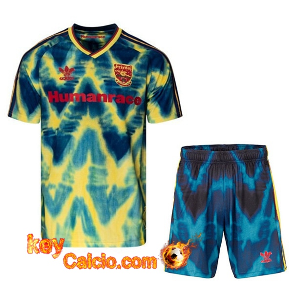 Kit Maglia Calcio Arsenal Race Humaine x Pharrell + Pantaloncini 2021